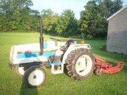 Compact Farm Tractor 21hp Mitsubishi MT210 w/Farm King Finish Mower